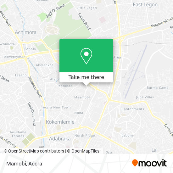 Mamobi map