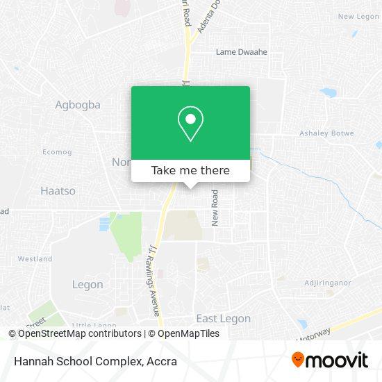 Hannah School Complex map