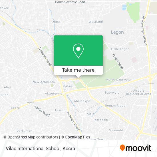 Vilac International School map