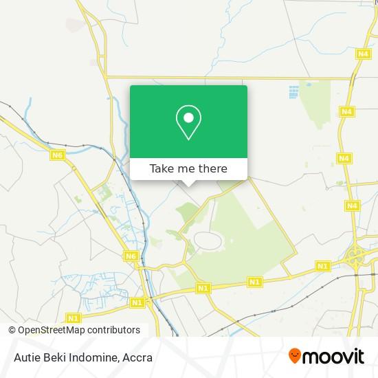Autie Beki Indomine map