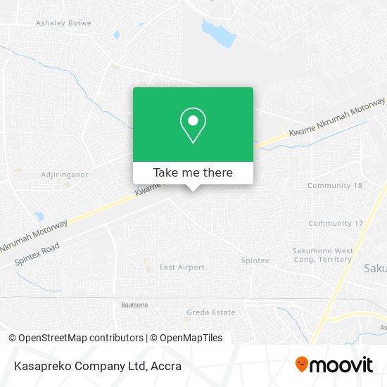 Kasapreko Company Ltd map