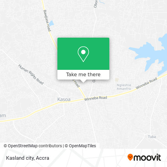 Kasland city map