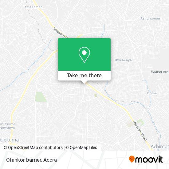 Ofankor barrier map