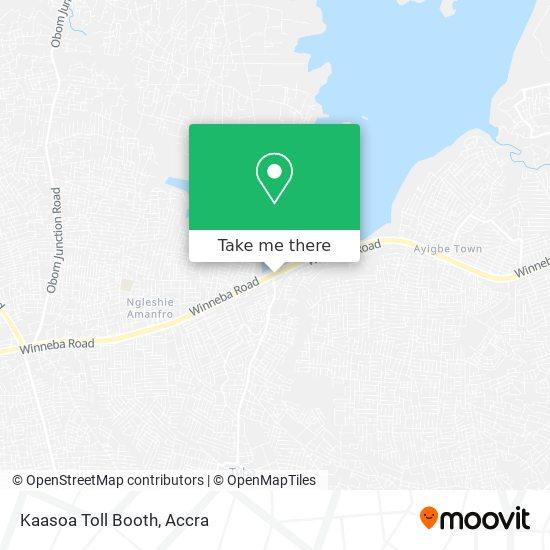 Kaasoa Toll Booth map