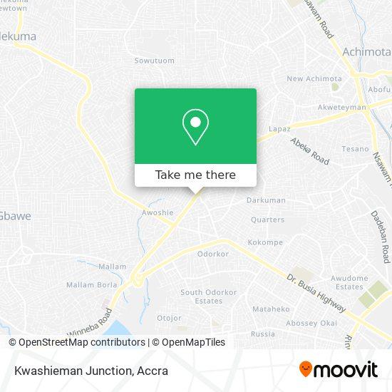 Kwashieman Junction map