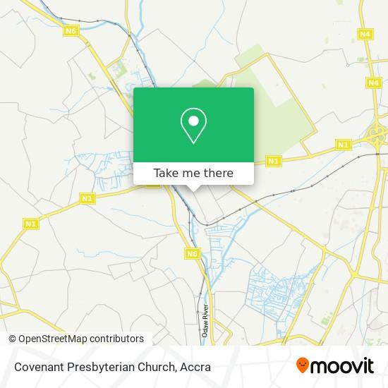 Covenant Presbyterian Church map