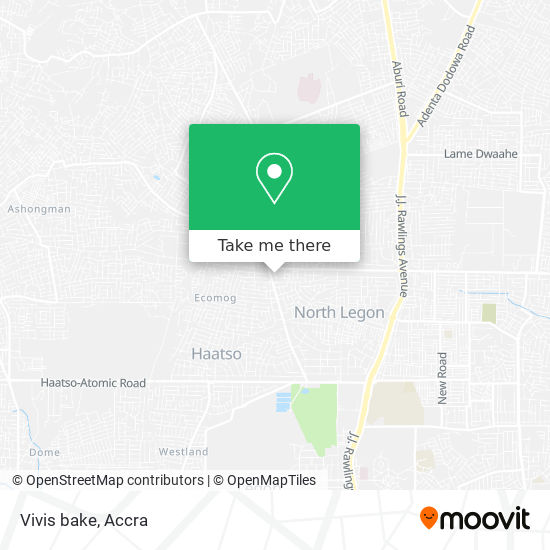 Vivis bake map