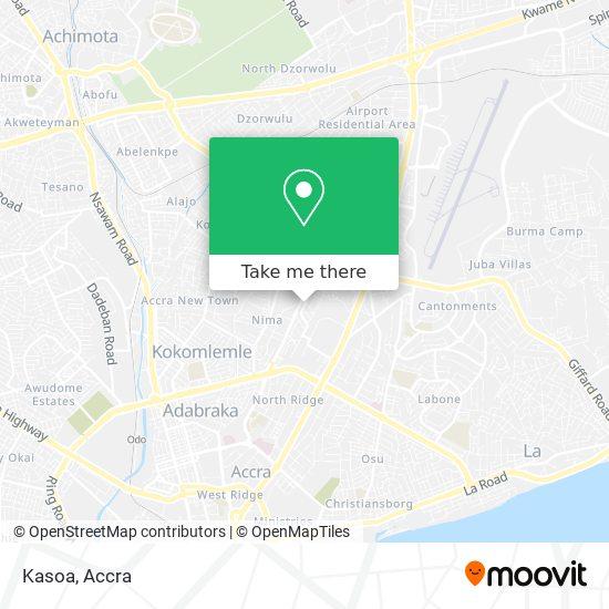 Kasoa map