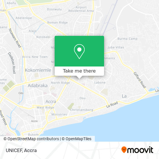 UNICEF map