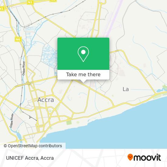 UNICEF Accra map
