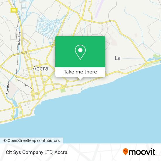 Cit Sys Company LTD map