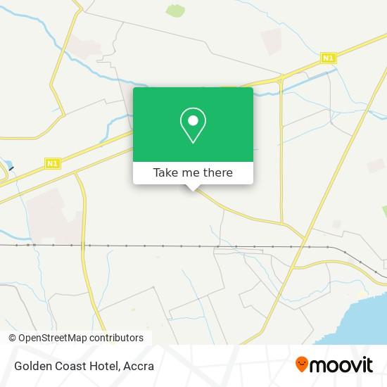 Golden Coast Hotel map