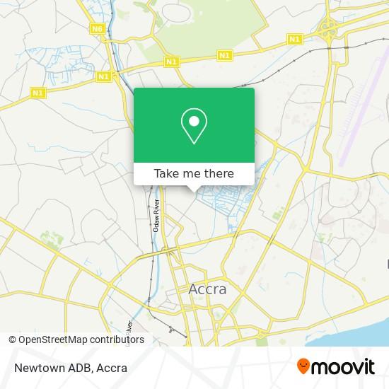 Newtown ADB map