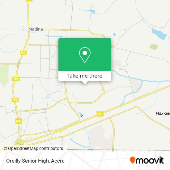 Oreilly Senior High map