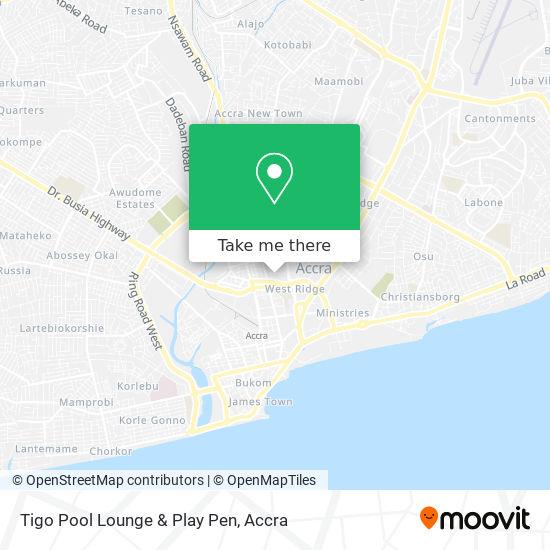 Tigo Pool Lounge & Play Pen map
