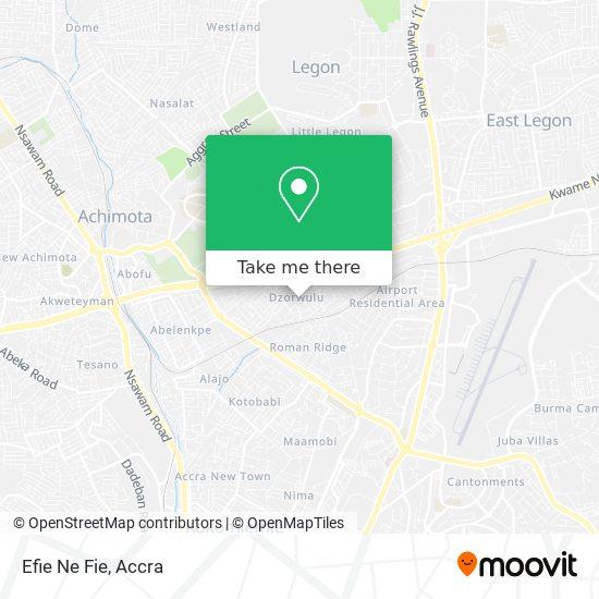 Efie Ne Fie map