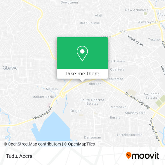 Tudu map