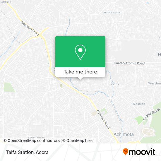 Taifa Station map