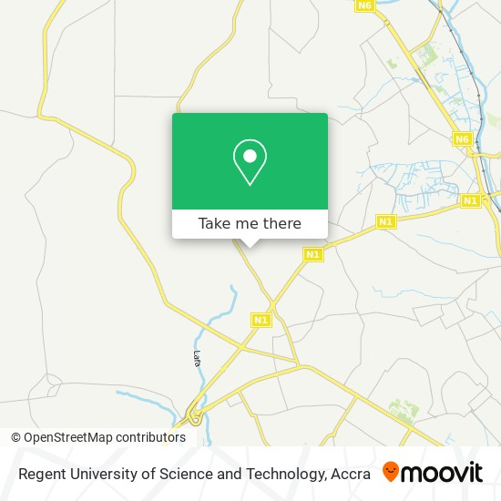 Regent University of Science and Technology map