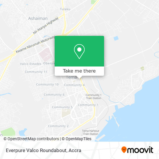 Everpure Valco Roundabout map