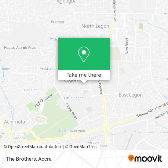 The Brothers map