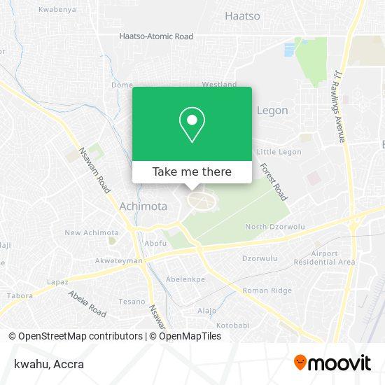 kwahu map