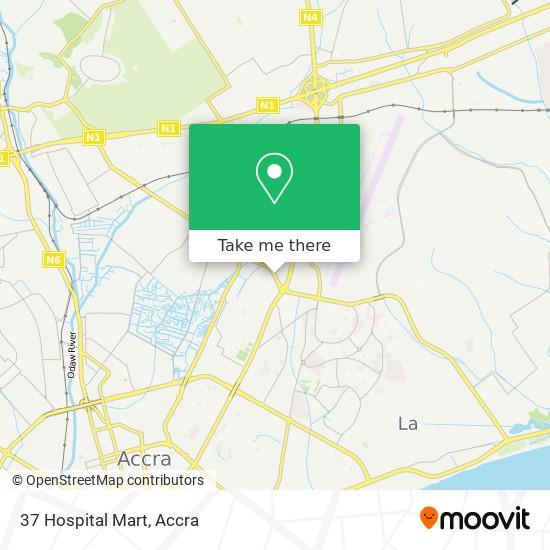 37 Hospital Mart map