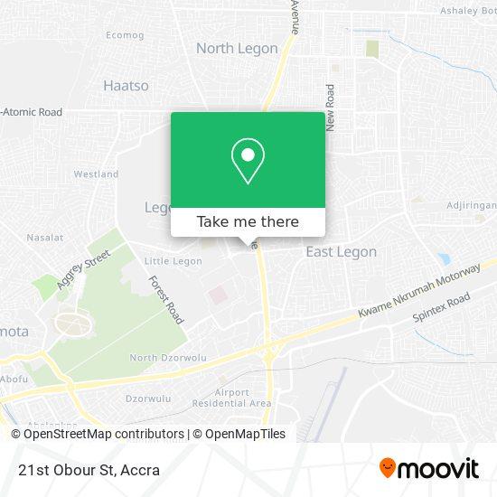 21st Obour St map
