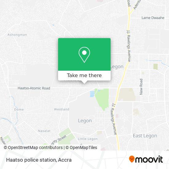 Haatso police station map