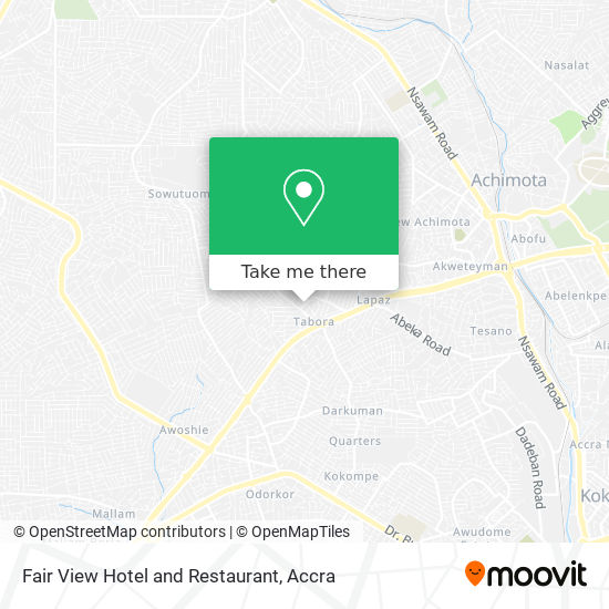 Fair View Hotel and Restaurant map