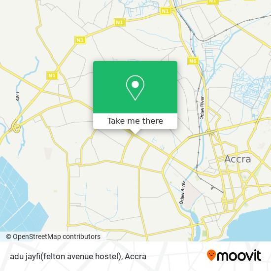 adu jayfi(felton avenue hostel) map