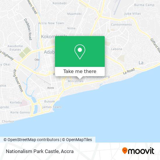 Nationalism Park Castle map