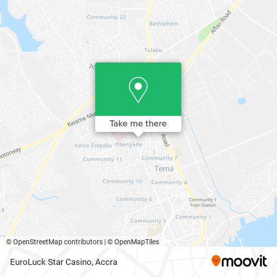 EuroLuck Star Casino map