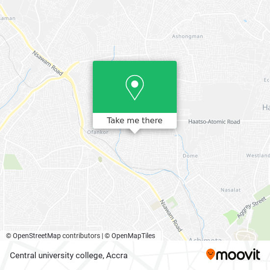 Central university college map