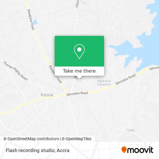 Flash recording studio map