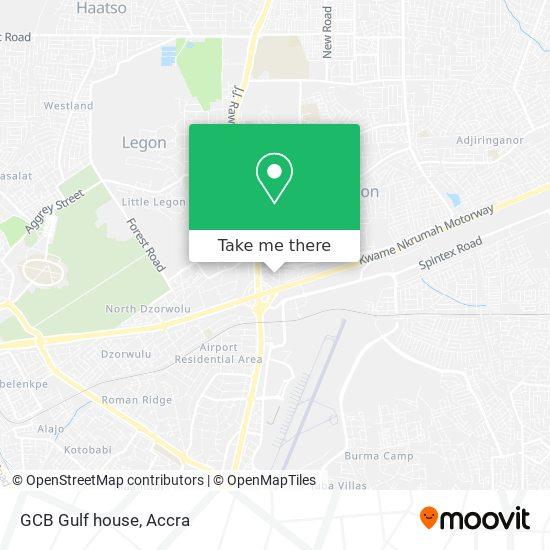 GCB Gulf house map