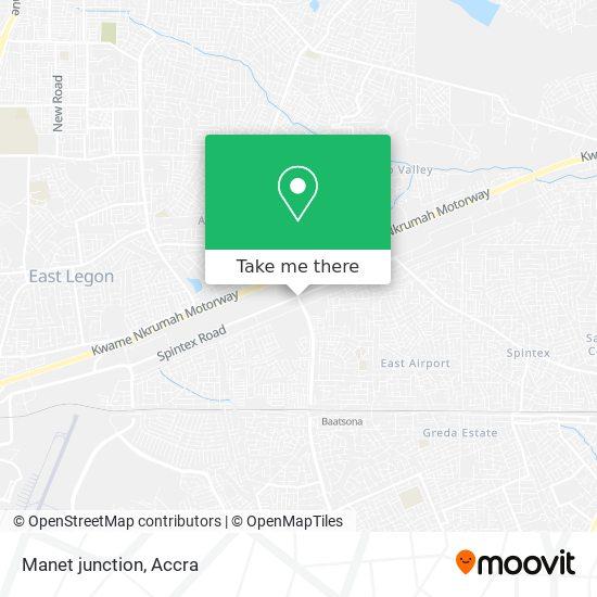 Manet junction map