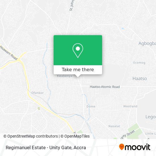 Regimanuel Estate - Unity Gate map