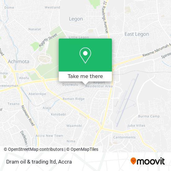 Dram oil & trading ltd map