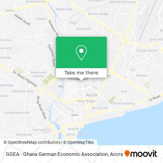 GGEA - Ghana German Economic Association map