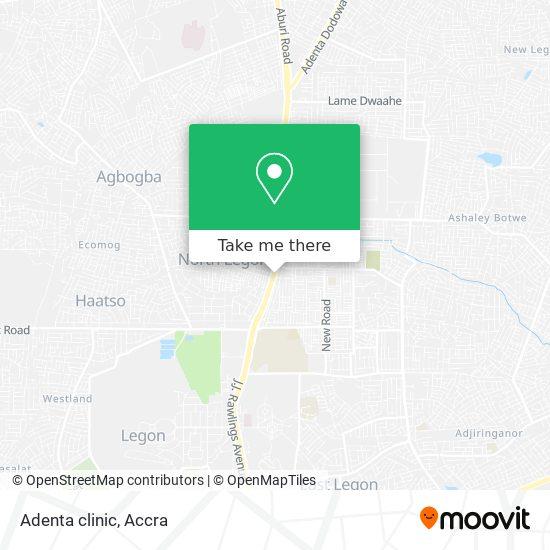 Adenta clinic map