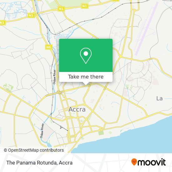 The Panama Rotunda map