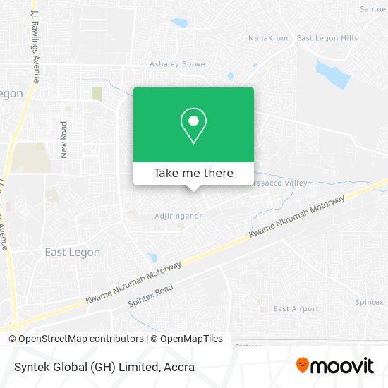 Syntek Global (GH) Limited map