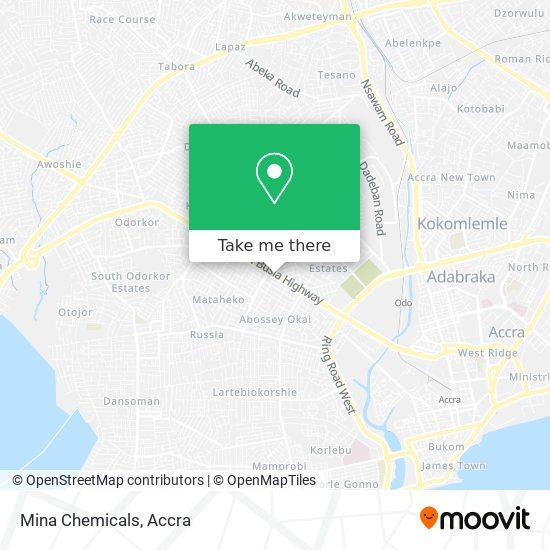 Mina Chemicals map