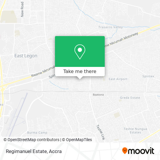 Regimanuel Estate map