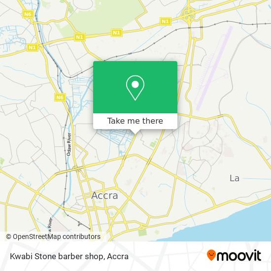 Kwabi Stone barber shop map