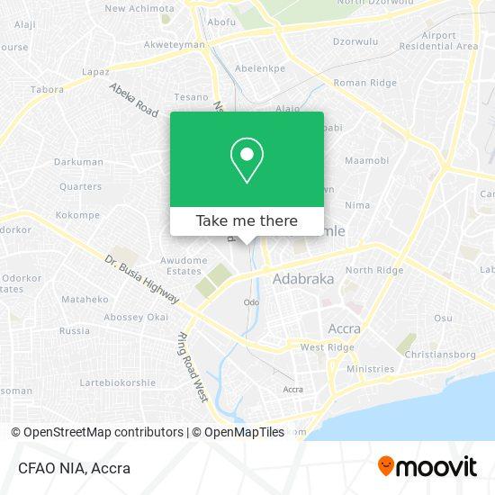 CFAO NIA map