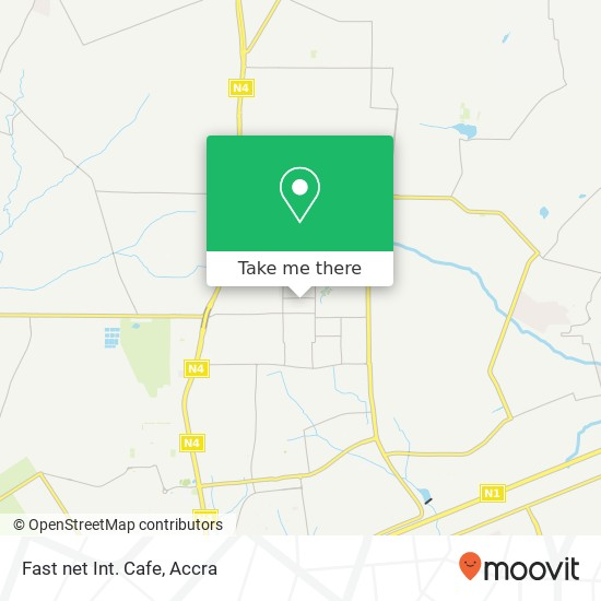 Fast net Int. Cafe map