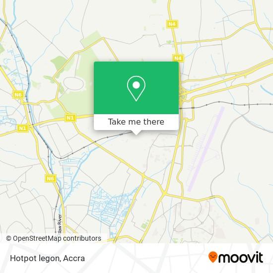 Hotpot legon map
