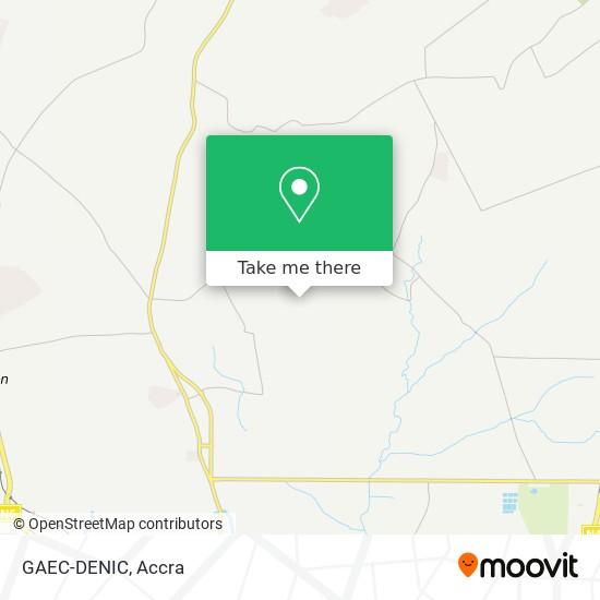 GAEC-DENIC map